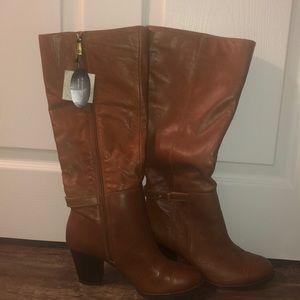 Giani Bernini Tan Boots- size 8